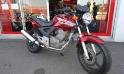 MAKE: HONDA MODEL: CBX 250 TWISTER YEAR: 2007 PRICE: