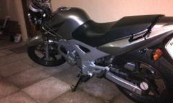 Honda cbx250 twister for sale. 2009 model, low mileage