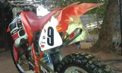 Honda CR 125 has vforce reed valves and a dep exhaust