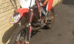 Cr 250 R for sale. Bike in good condition. Recently had
