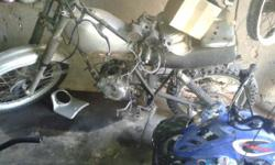 Honda sl250 for sale needs head and camshaft