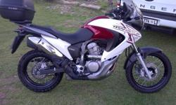 Honda Transalp 700 spotless condition with only 12000