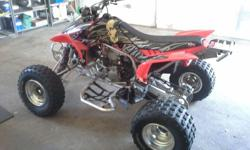 Honda TRX 450 with all extras and a full kit.