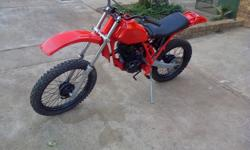 honda xr200 for sale unfinshed project,bike needs to be