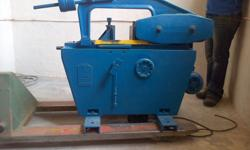 Horizontal band saw for sale. Heavy duty, very solid