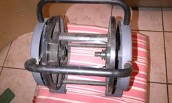 Plastic hose pipe reel for storing hose pipe and