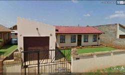 House in Vosloorus Ext 3. House consists of : * 2