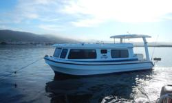House boat Leisure Liner for sale. Designed by naval