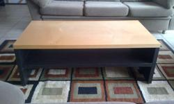 Coffee table , R600. 2 x Modern designer luxury seaters