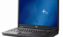 HP NX7400: Core 2 Duo 1.83G with 1GB RAM, 80GB hdd,
