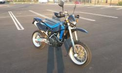 2006 husky 450 super motard in mint condition 2nd owner