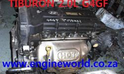 Hyundai Tiburon 2.0L engine[used/imported] Good day Our