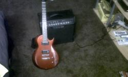 Beskrywing IBANEZ GART with line 6 Spider amp for sale