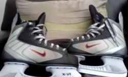 Beskrywing second hand ice hockey skates,nike brand,