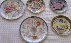 Imari - style collectable decorative plates. Excellent