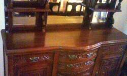Antique ball & claw imbuia dining room set. Welcome to
