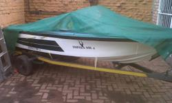 Beskrywing IMPALA FISHINGBOAT WITH TRAILER NEEDS