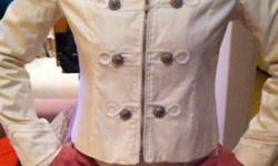Imported range of women's high fashion jackets in small