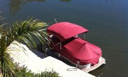 Imported Premier Pontoon 18ft. 1 year old. 50hp Honda