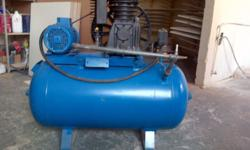 300 Litre Industrial Compressor machine for sale. 3