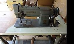 FOR SALE ; SINGER 211 INDUSTRIAL SEWING MACHINE THIS IS