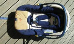 Beskrywing Infant carrier car seat, hardly used.