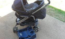 Beskrywing Peg Perego Adjustable pram and infant car