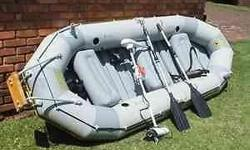Intex Mariner Inflatable Boat with buoyancy certificate