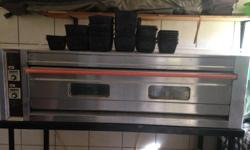 I have a 3i Infrared single decker oven for sale. Oven