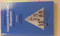 Beskrywing Industrial Relations Textbook for Sale: