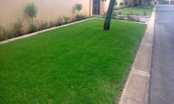 instant grass and landscaping. we supply grass and