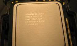 CPU and standard Intel cooler. Excellent condition. I