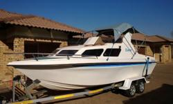 Interceptor 210, 140 V4 Johnson Motor (Sopas gediens by