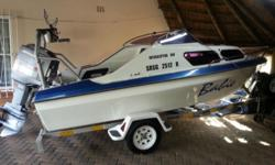 Interceptor 160 with 100hp mariner fore sale very good