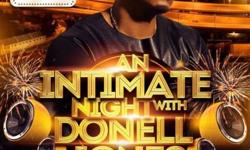 An Intimate Night with Donnell Jones. Date :31 July