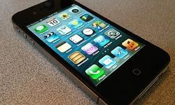 iphone 4 black 16gb R2000 Excellent cond.