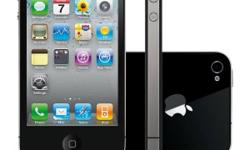 Apple iPhone 4S 32GB Black for sale. The phone is in
