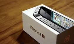 Iphone 4s 8GB brand new and sealed box open to all