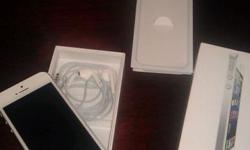 Brand new Iphone 5 64 Gb White. It is in very good