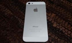 Like New! No scratches! BARGAIN! iPhone 5 White