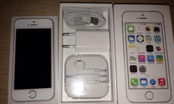 iPhone 5s 16 white & silver brand new never used..