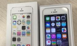 White iPhone 5s - 16gb 1 year old