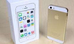 IPhone 5s 64gig Gold, 5 months old with box and
