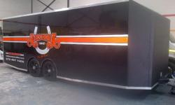 We build Refrigerated trailers, Mobile food/kiosk
