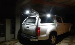 Canopy for new Isuzu doublecab. Brand new with extra's.