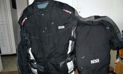 IXS Biker Suit. Air flow. Removable padding In