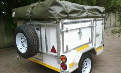 Aluminium 4x4 Trailers Nose Cone Built-in partitioning