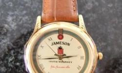 Jameson Irish Whisky watch with leather, brand new just