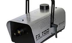 Powerful all-round fogger Perfect for mobile DJs,