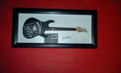 Perfect collectors item, Jack Daniels electric guitar